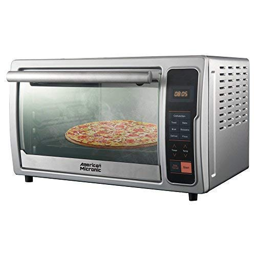American Micronic AMI-OTG-42LDx 42-Litre Imported Digital Oven Toaster Griller with Rotisserie and Convection (Silver)