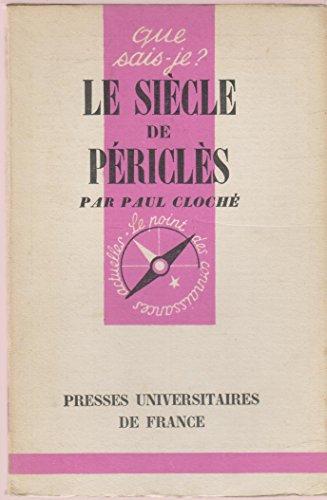Le sicle de Pricls