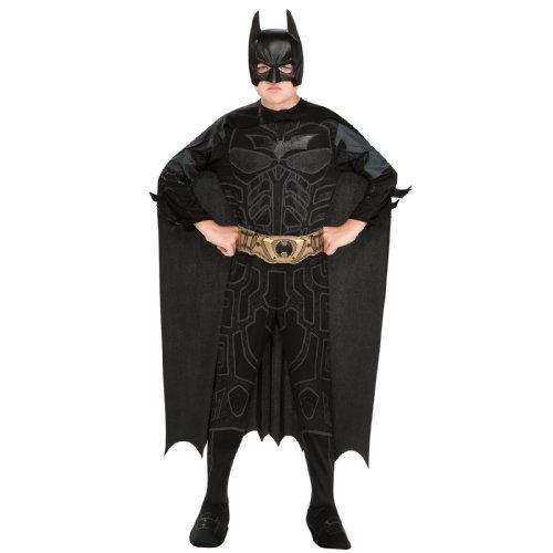fasching batman Kinder-Kostüm-Set Batman Deluxe, Größe 140-152