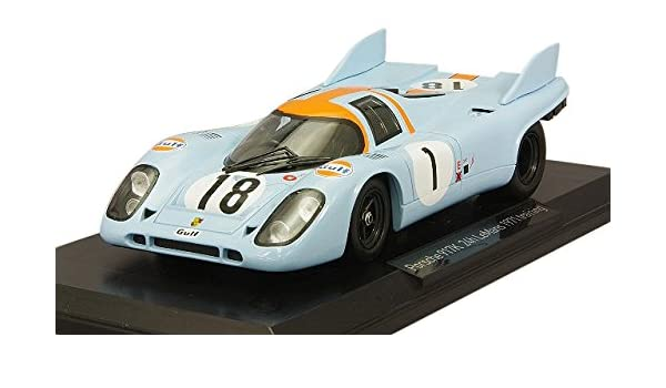 Echelle 1//18 Bleu//Orange//Blanc Minichamps 155736504 Porsche 917//10 Can-Am Watkin Glen 1973