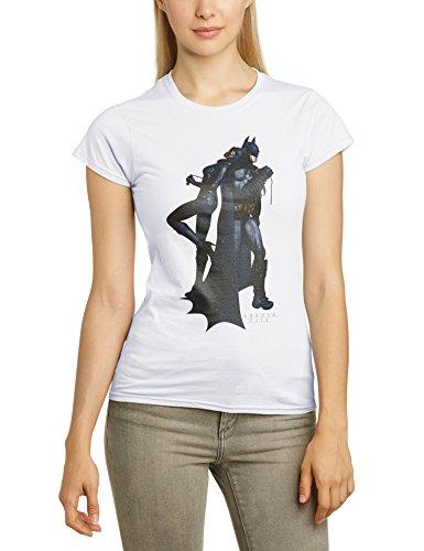DC Comics Damen Slim Fit T-Shirt Weiß