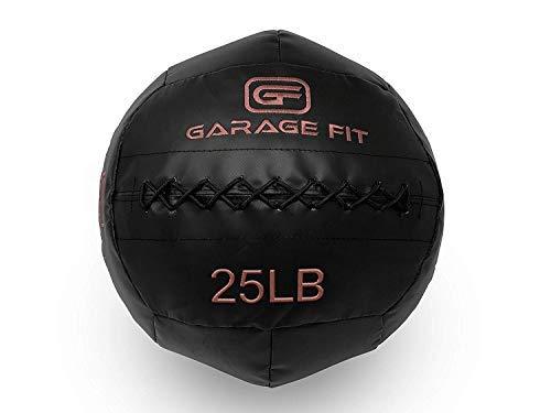 Garage Fit Weicher Medizinball/Wand Ball für Cross Training, Schwarz