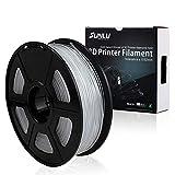 SUNLU Transparent PETG 3D Printer Filament 1.75mm Reference Specs:  Diameter: 1.75MM  Tolerance Level: ±0.02MM  Print Temperature: 230-260°C / (446-550°F)  Print Speed: 50-100mm/s  Base Plate Temperature: No Heat Required/50-80°C  Bubble: 100% Zero B...