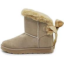 db1f84208f1d5 Scarpe Donna Boot Stivali Invernali Imbottiti Pelliccia Interna camoscio  Sintetico Metallic Mammut