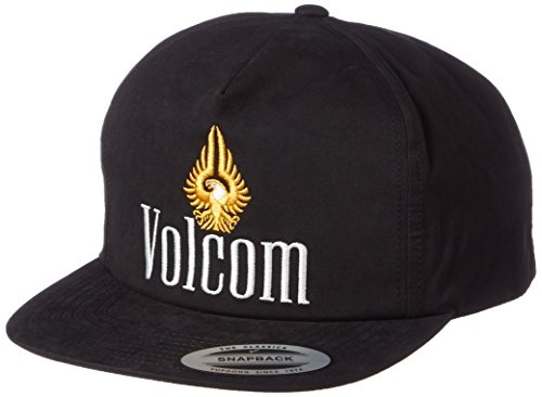 Casquette Snapback Eagle Volcom casquette snapback cap Noir