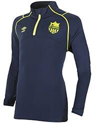 Sweatshirt Training FC Nantes Marineblau/Gelb