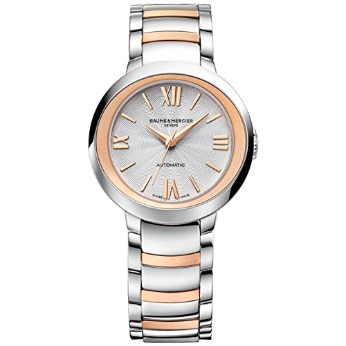 Baume & Mercier Women's Promesse 30mm Steel Bracelet Automatic Watch 10183