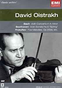 Collection Classic Archive : David Oïstrakh (Bach / Beethoven / Schubert / Brahms / Debussy / Prokofiev)