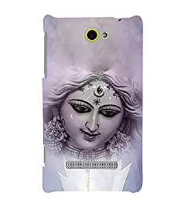 Maa Durga 3D Hard Polycarbonate Designer Back Case Cover for HTC Windows Phone 8S :: HTC 8S