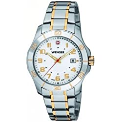Wenger Alpine 70477 Analogue Quartz Stainless Steel Men's Watch