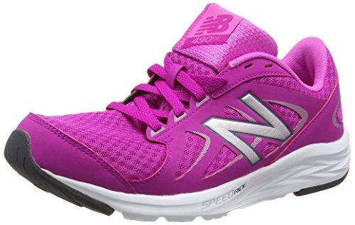 New Balance 490v4 Scarpe Running Donna, Rosa (Pink/Silver) 38 EU