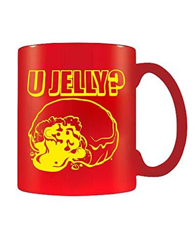 T-Shirtshock Tazza 11oz Rosso FUN0050 U Jelly DET -