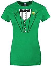Leprechaun Jacket St Patrick's Day Ladies T-Shirt