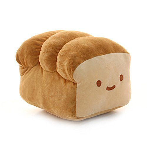 "BREAD 6"", 10"", 15"" Plush Pillow Cushion Doll Toy Gift Home Bed Room Interior Decoration Girl Child Gift Cute Kawaii by Cupid Gift Shop (6 inches)"