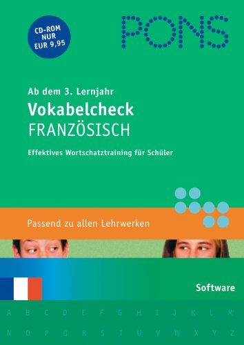 PONS Vokabelcheck Französisch 3./4. Lernjahr