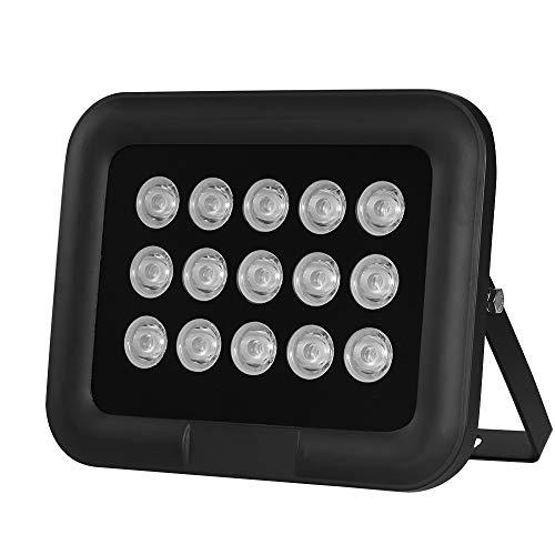 OWSOO Infrarot Illuminator 6pcs Array IR LED IR Illuminator Nachtsicht Weitwinkel Long Range Outdoor wasserdicht für CCTV Überwachungskamera, 15pcs Long Range Ir