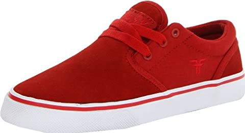 Fallen THE EASY, Chaussures de skate femme - Rouge -