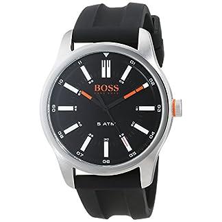 Hugo Boss Orange Reloj Análogo clásico para Hombre de Cuarzo con Correa en Silicona 1550042