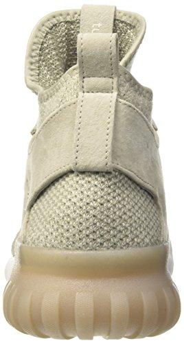 adidas Tubular X PK, Chaussures de Basketball Homme Beige (Sesame/clear Brown/trace Cargo)