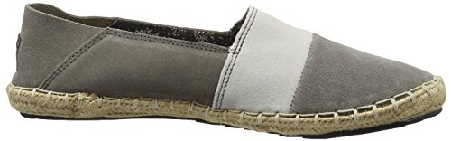 Pepe Jeans Herren Tourist Slip On Mix Espadrilles Grau (945GREY)