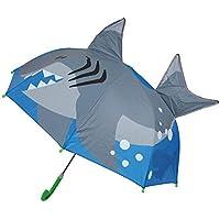 Burbuja Domo Paraguas niños, Paraguas de Doble Uso Sharp 8 Ribs Umbrella Automatic Paraguas para