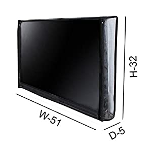 Dream Care Transparent PVC LED/LCD Television Cover For Sony 55 Inches Bravia KD-55X8200E 4K UHD LED Smart TV