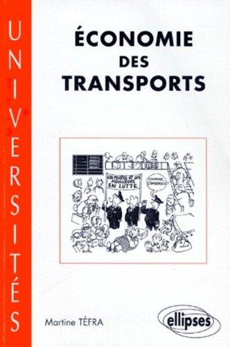 Économie des transports par Martine Téfra