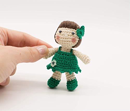 St Patricks Geschenke - Miniatur-Puppe, Amigurumi St. Patrick's Gift, irisches