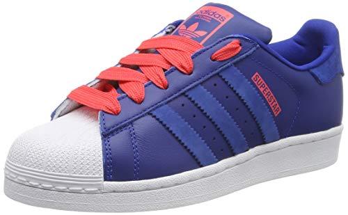 Adidas Superstar J Zapatillas de Gimnasia Unisex Niños, Azul Collegiate Royal/Collegiate Royal/Shock...