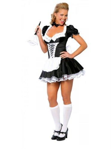 Französisch Dienstmädchen Kostüm Adult - Französisches Dienstmädchen-Kostüm von Roma