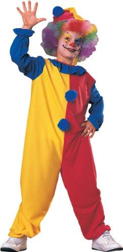 Rubies 881926S - Disfraz de payaso para niño