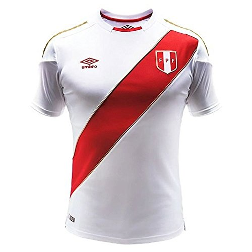 Umbro 2018-2019 Peru Home Football Shirt (Kids) -
