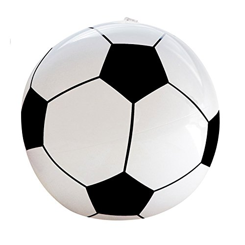 PARTY DISCOUNT Aufblasbarer Fußball