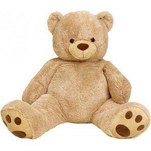 Intertoys-Oso-de-Peluche-135-cm-Beige