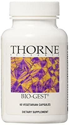 Thorne Research - Bio-Gest - Blend of Digestive Enzymes - 60 Capsules by Thorne Research