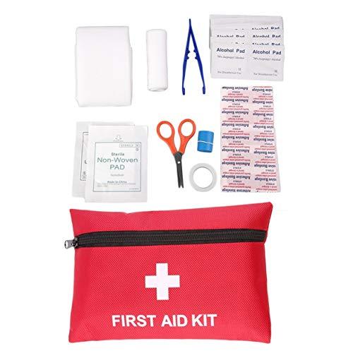 Tellaboull for Todo en Uno, Supervivencia en Emergencias Médicas, Botiquín de Primeros Auxilios, Deporte al Aire Libre, Viaje, Camping, Rescate, Paquete de Tratamiento médico