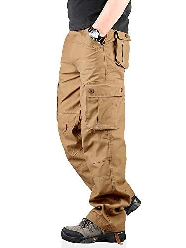 TAIPOVE Pantalones Largos Cargo para Hombre, Múltiples...