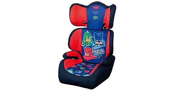 Group 2//3 URBN-TOYS Highback Booster Car Seat PJ Masks Nickelodeon Age 4-12