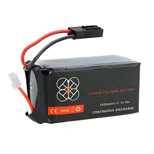 JSMeet Upgrade di Alta qualità Batteria Lipo 11.1V 2500mah 20C per Parrot AR.Drone 2.0 Quadcopter