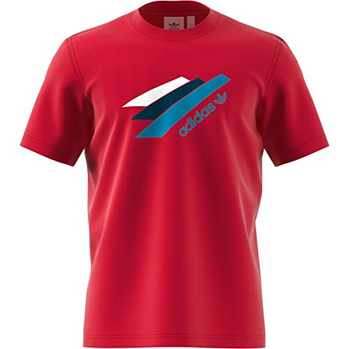 adidas Palemston tee - Camiseta, Hombre, Rojo(ROJFUE/ROJFUE)