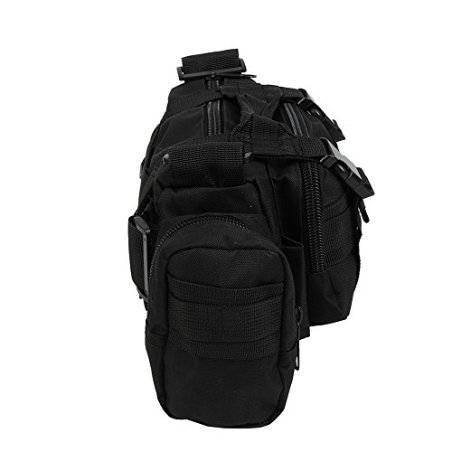 Molie 8cmx18cmx30cm Sport Outdoor Military Rucksacks Tactical Backpack Camping Hiking Trekking Bag Black