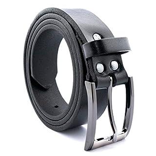Albrecht Leder Men's Belt - Black - XXX-Large