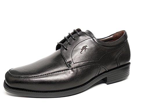 Fluchos, Scarpe stringate uomo nero Size: 44