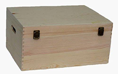 Red Hamper Rouge Hamper Bouteille en Bois Porte-boîte, Brown, 40 cm Marron, Dimensions: (L x L x H) 30 x 40 x 20 cm