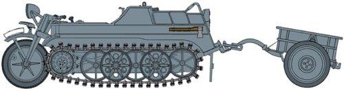 1-35-wwii-german-sdkfz2-ketten-network-lert-early-production-w-comfort-inn-infantry-cart-japan-impor
