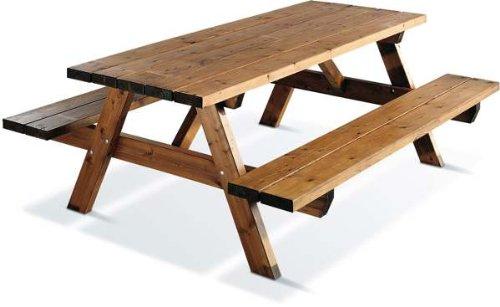 Jardipolys - Table de pique-nique GARDEN 200B