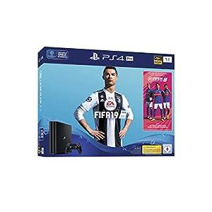 PlayStation 4 Pro – Konsole (1TB) inkl. FIFA 19 + 1 DualShock 4 Controller