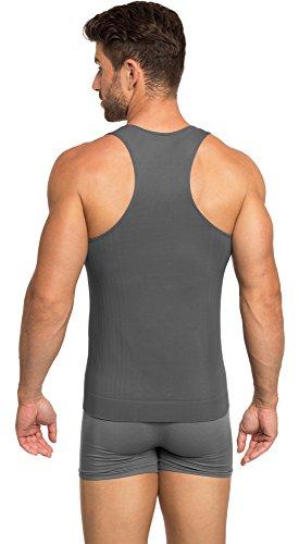 Ladeheid Herren Unterhemd 05 4 Graphite