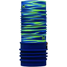 original buff polar buff® kenney verde / azul marino - polar buff para unisex, color multicolor,  adulto