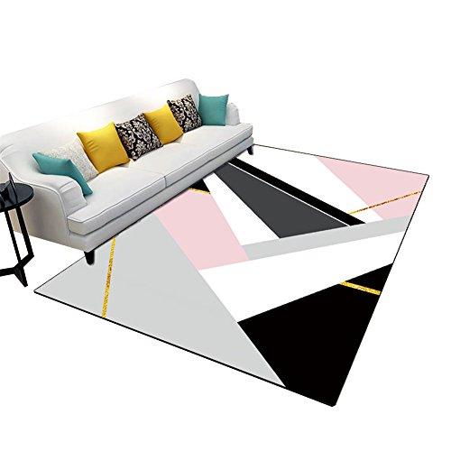 ZWD Rug, Bright Pink Haushalt Haushalt Dekoration Mädchen Zimmer Tee Tisch Hängesessel  Wohnzimmer Schlafzimmer Rechteckigen Teppich | Länge 120 140 Cm ...